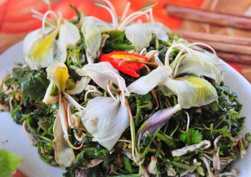 397 Lên Mộc Châu thưởng thức nộm hoa ban