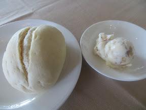 Quartet Portland, fine dining restaurant, dinner rolls, praline butter