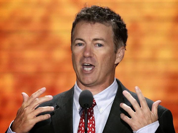 Rand Paul: tax cuts for everybody & balanced budget