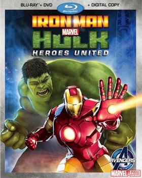 Filme Poster Homem de Ferro e Hulk - Super Heróis Unidos BDRip XviD Dual Audio & RMVB Dublado