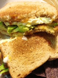Avocado and Fried Egg Sandwich | www.kettlercuisine.com