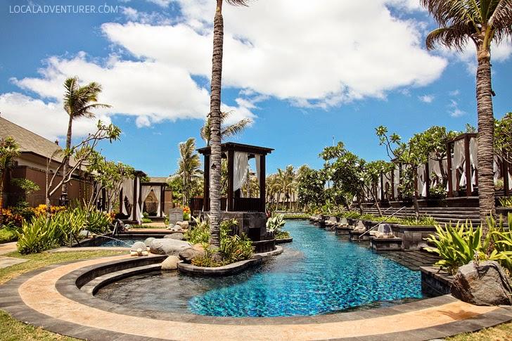 The St. Regis Hotel Bali Resort.