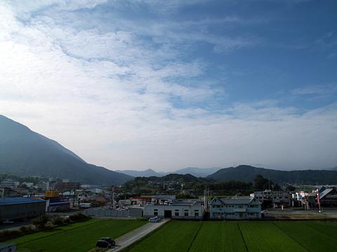 名鉄バス「名古屋~松山線」 車窓