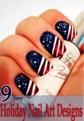 The chronicles of lady g happy 4th of july independence day independence day nail art inspirations that interested me so as i always do im sharing them with you maybe on october 1st ill come with some cool prinsesfo Image collections