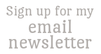 email newsletter sign up
