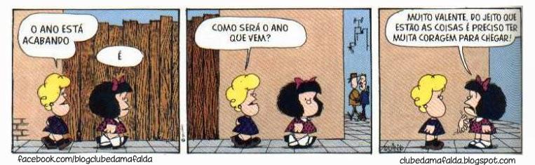 Clube da Mafalda: Tirinha 600