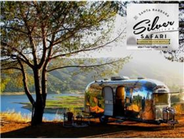 Silver safari web log for Airstream rentals santa barbara