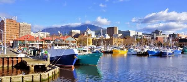 Hobart CBD - Tasmânia