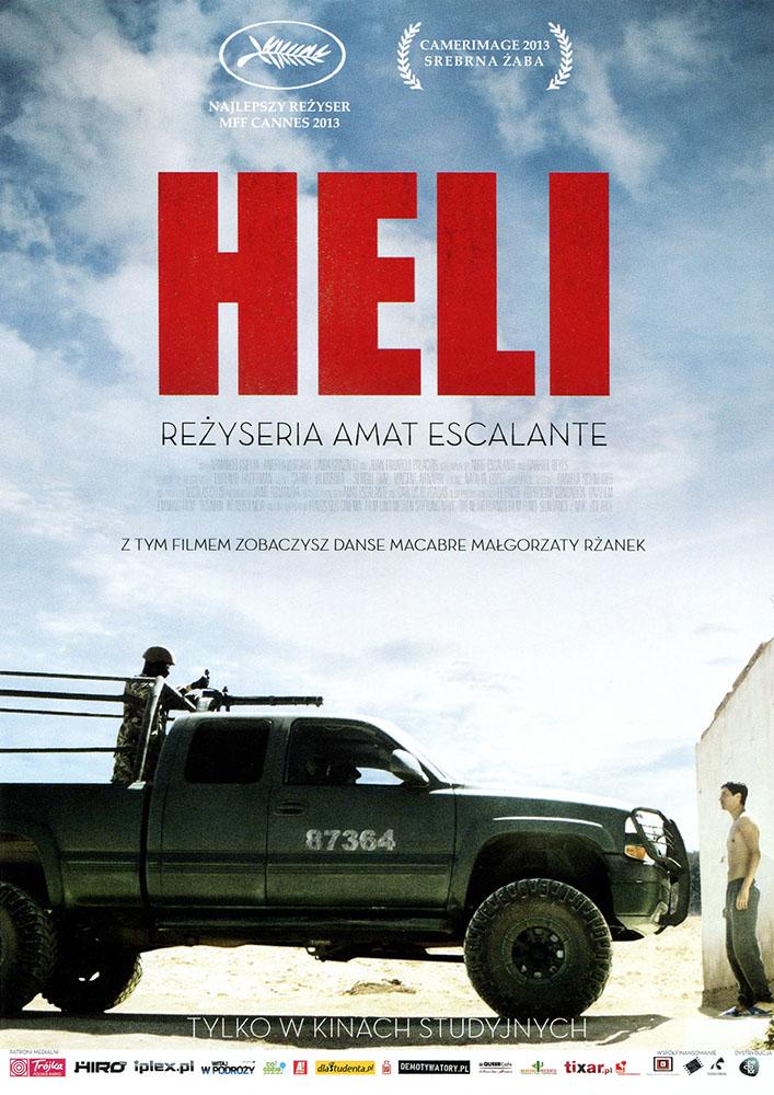 Ulotka filmu 'Heli (przód)'