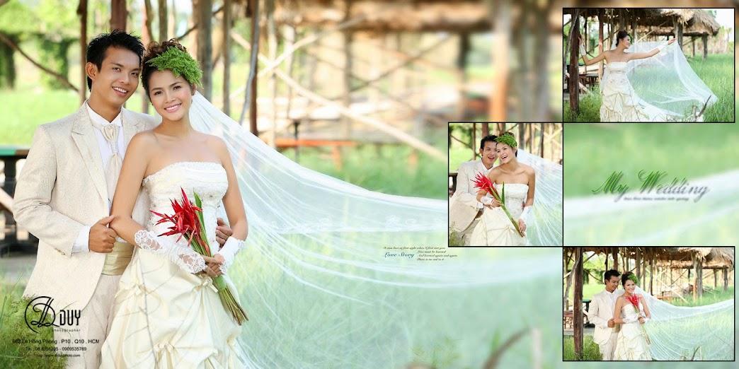 Đơn giản, đậm chất nam bộ là phong cách trong album hình cưới quận 2