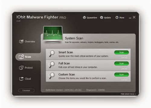 IObit Malware Fighter Pro 2.0.0.205 Final - Elimina a los esp�as