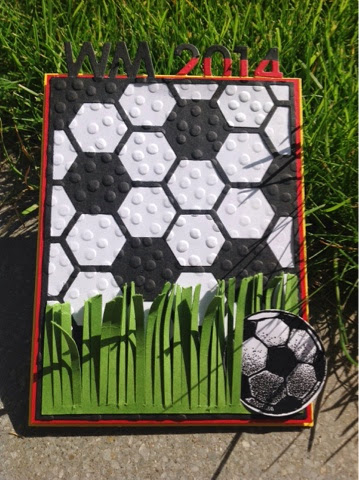 Stampin up Football
