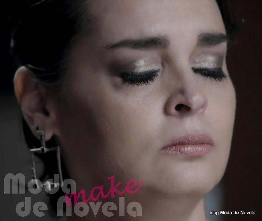moda da novela Império, maquiagem da Beatriz no casamento da Maria Clara na novela Império
