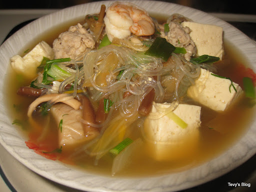 how to cook bean thread noodles in soup