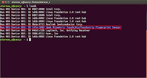 Utilizar un lector de huellas en Ubuntu