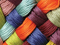 fibre thread made in Pakistan