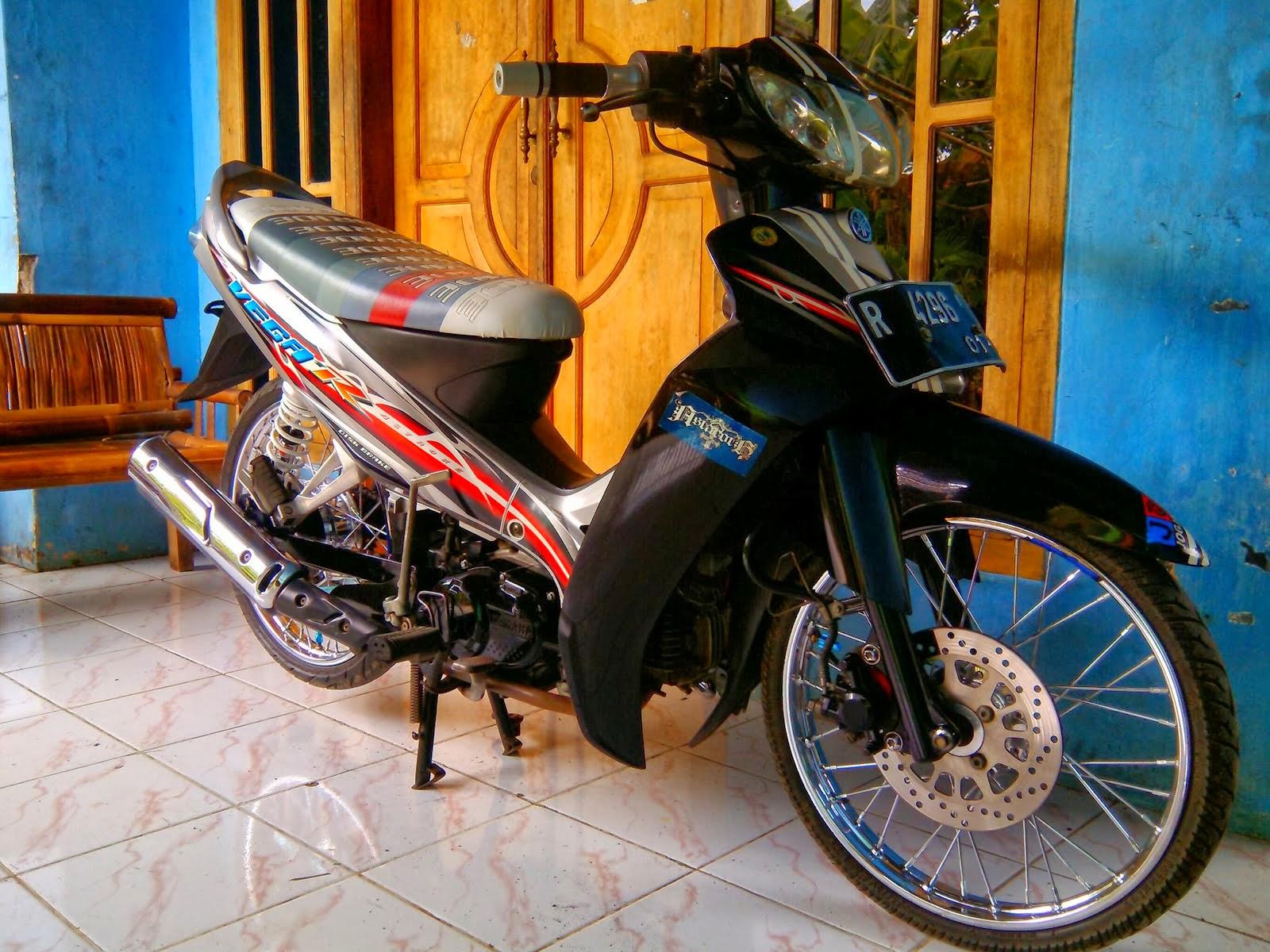 Modif Motor Yamaha Vega R 2008