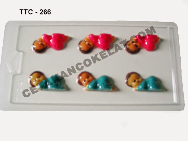 Cetakan Coklat TTC265 Bayi Baby