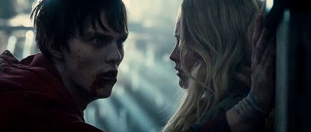 Screen Shot Of Hollywood Movie Warm Bodies (2013) Download And Watch Online Free at Alldownloads4u.Com
