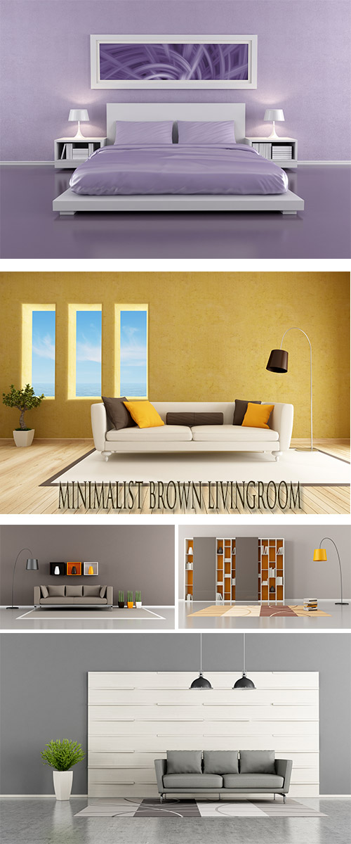 Stock Photo: Room interior in style of minimalism