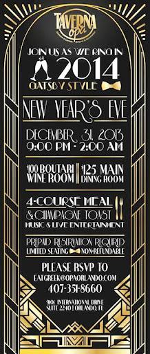 Taverna Opa Orlando New Year's Eve