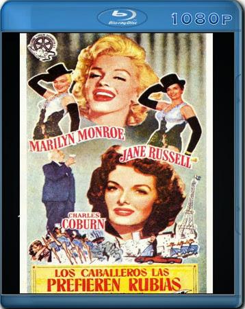 Los caballeros las prefieren rubias [BDRip 1080p][Dual AC3.DTS][Subs][Comedia][1953]