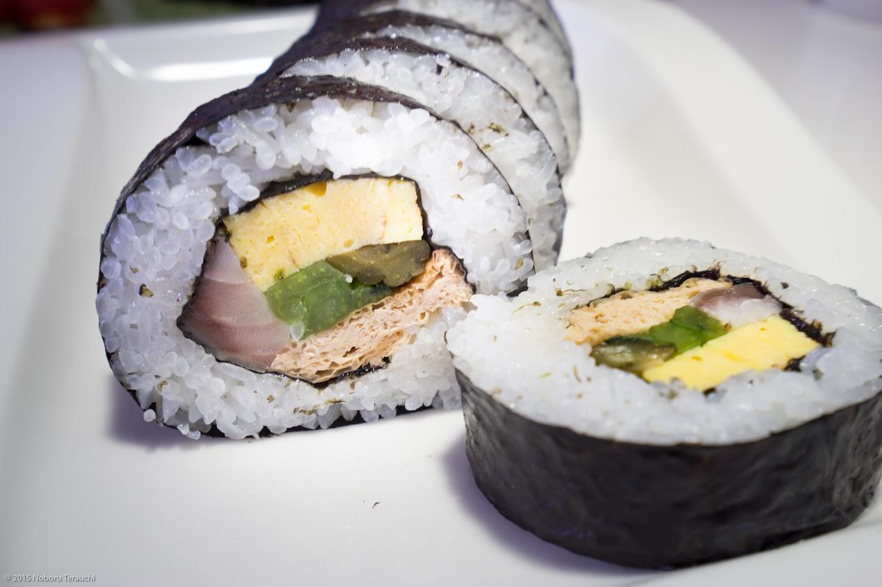 浅野久美子さん手作り太巻き寿司