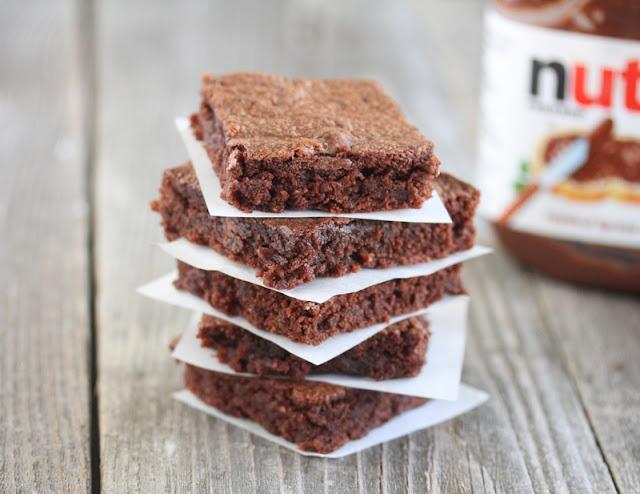 Easiest 3 Ingredient Nutella Brownies | Kirbie's Cravings | A San ...