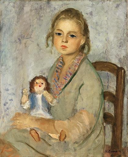 Charles Camoin - La petite fille à la poupée