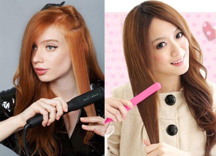 Không nên tạo mẫu tóc khi tóc còn ướt