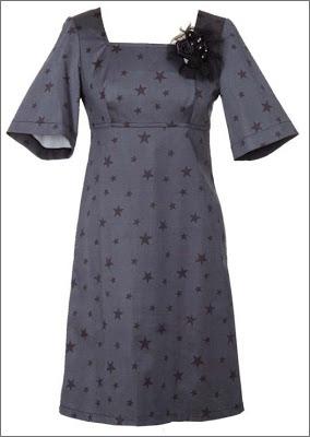 Molde de vestido corto acampanado