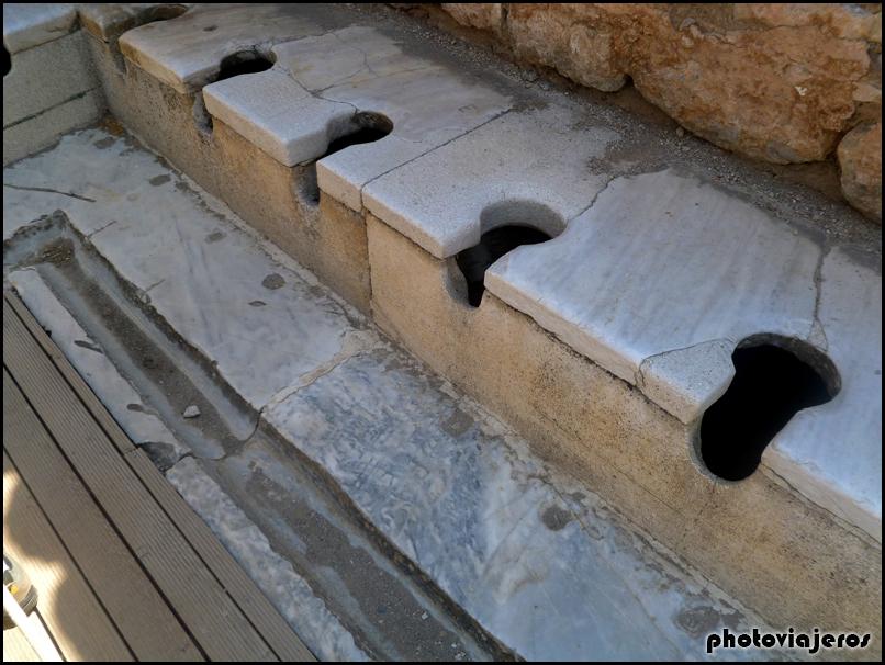 Letrina pública de Efeso