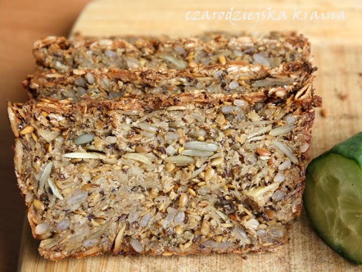 Chleb bez maki z ziarnami