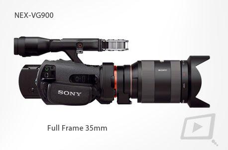 Sony presenta la primera Handycam® Full frame de 35mm NEX-VG900