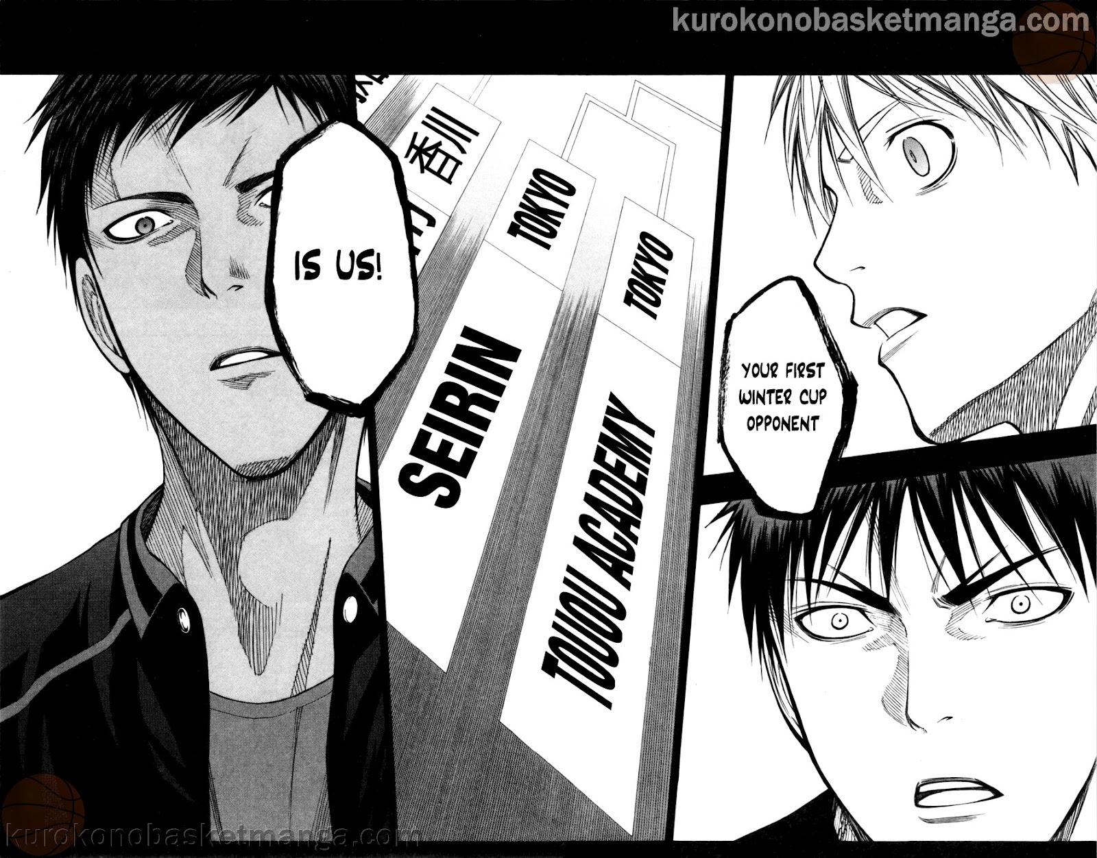 Kuroko no Basket Manga Chapter 110 - Image 12-13