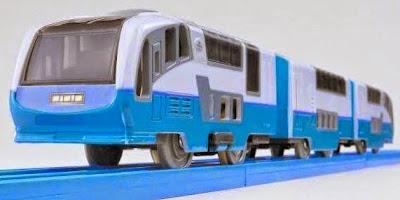 Đồ chơi tàu hỏa S-14 Super View Odoriko với chất liệu an toàn