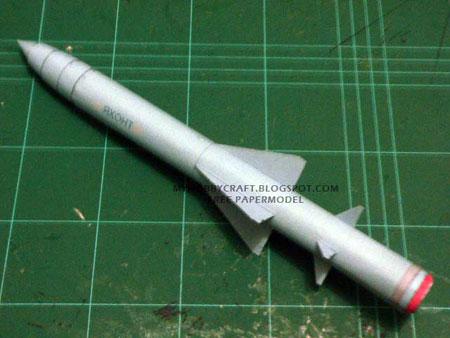 P800 Oniks Missile Papercraft Yakhont