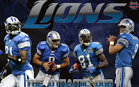 Detroit Lions Calvin Johnson Matthew Stafford Dynamic Duo Wallpaper