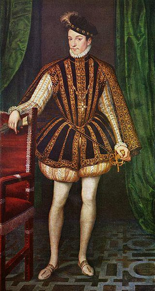 François Clouet - Portrait of Charles IX of France