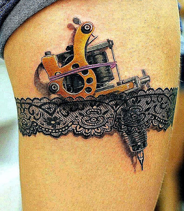 Cool Tattoos Gun Tattoo Designs For Women Tattoo Design gun