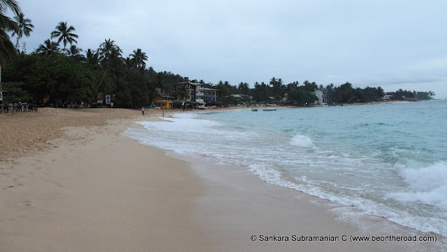 Serene looking Unawatuna Beach