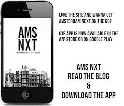 Amsterdam Next Blog and App