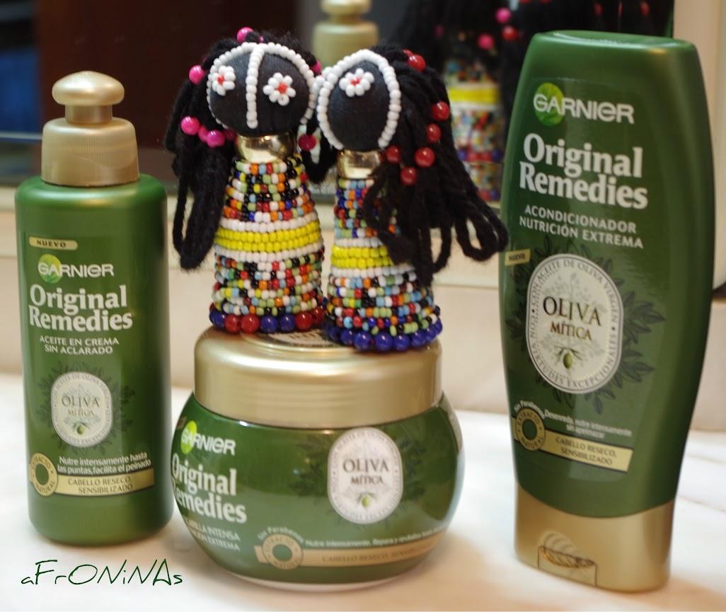 afroninas, otoño, favoritos, belleza, garnier ultra doux olive mythique, oliva mistica
