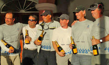 J/105 Team Elusive- sailing Bermuda winners