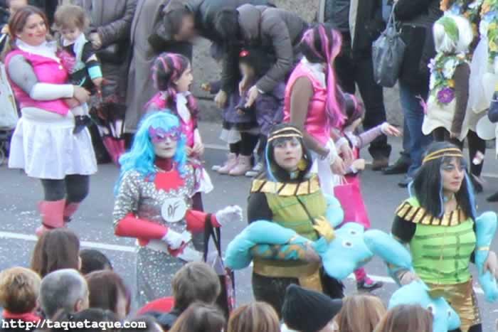 Desfile del domingo de Carnaval 2012 (Ourense): Monster High