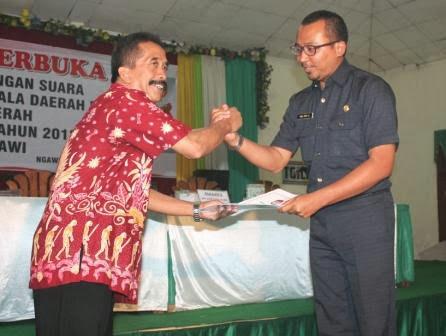 Daftar DPT Kabupaten