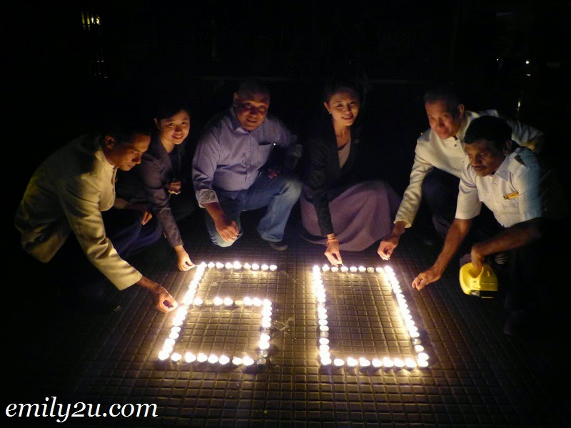 Earth Hour 2015 @ Impiana Hotel Ipoh