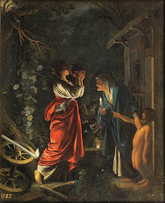Adam Elsheimer - Ceres at Hecuba's home