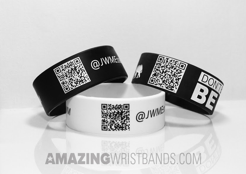 QR-Coded Wristbands