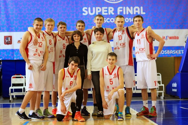 Команда города Углича заняла пятое место на Суперфинале КЭС-Баскет 2014 в Москве
